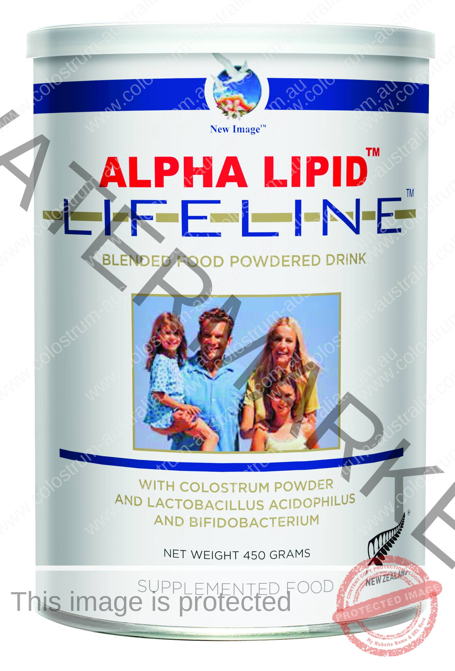 AlphaLipid Lifeline Colostrum Powder Colostrum Australia