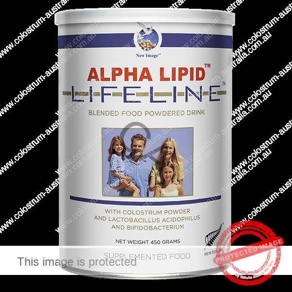 alpha lipid lifeline 450g Colostrum Powdered Drink