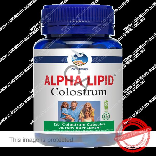 Alpha Lipid Colostrum Capsules 120