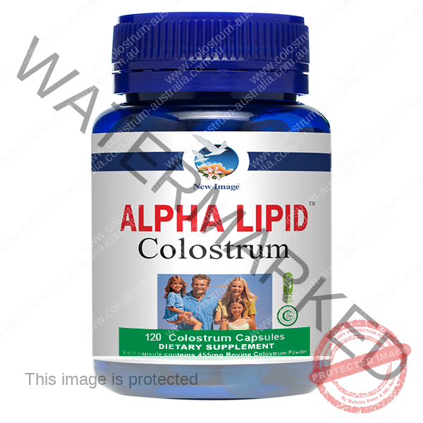 Alpha Lipid Colostrum Capsules 120