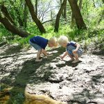 children playing mud protect with alpha lipid lifeline colostrum