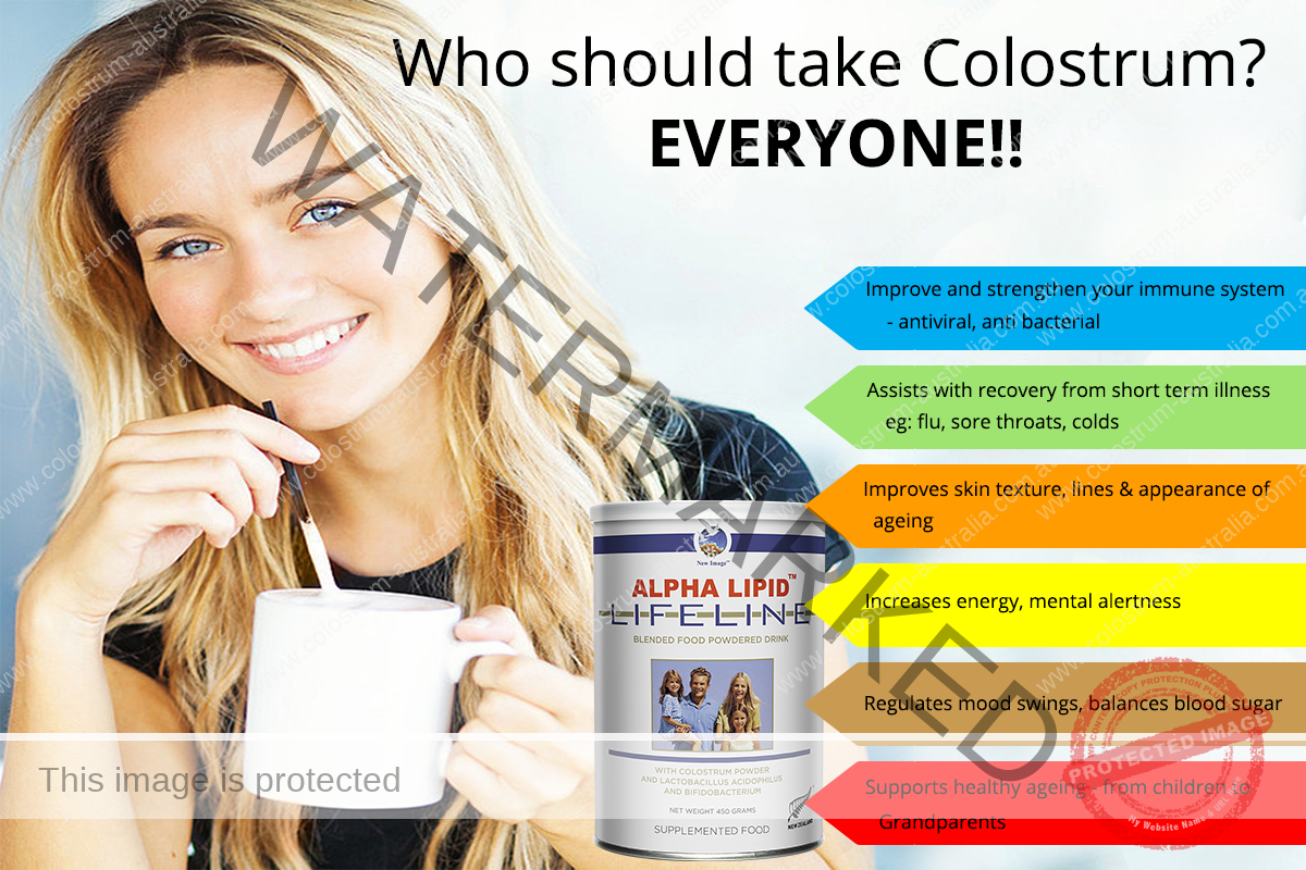 Who Should take colostrum.