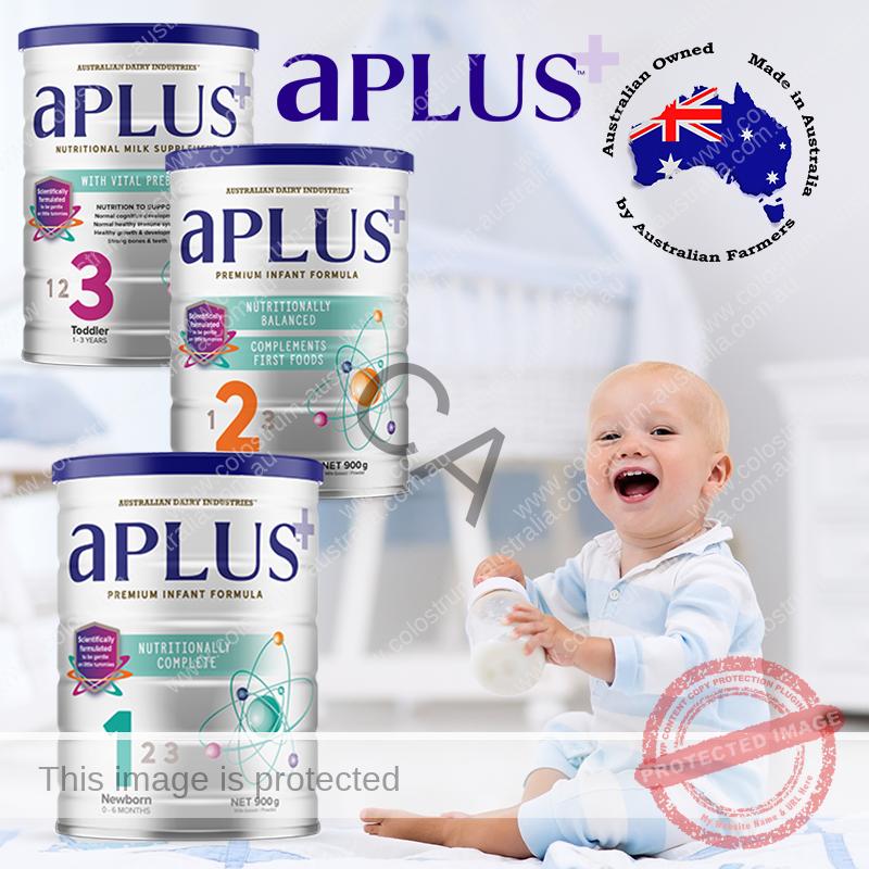 aPlus premium infant formula