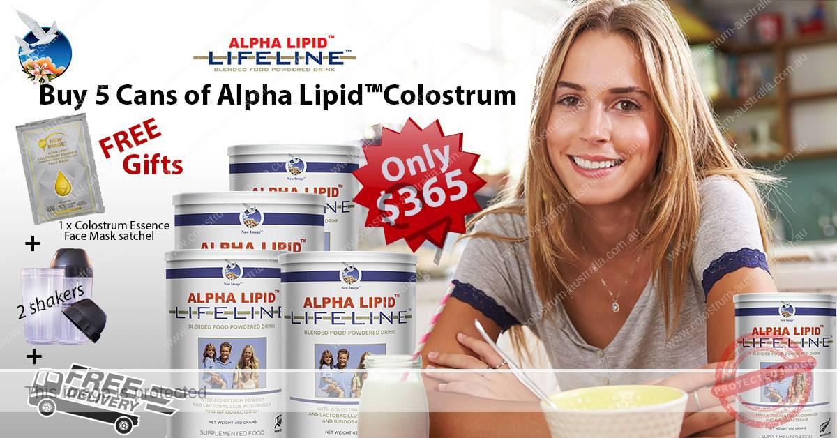 Alpha Lipid colostrum 5 can buy