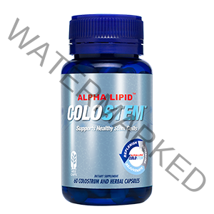 Alpha Lipid Colostem - scientifically proven to support the body's natural cellular repair