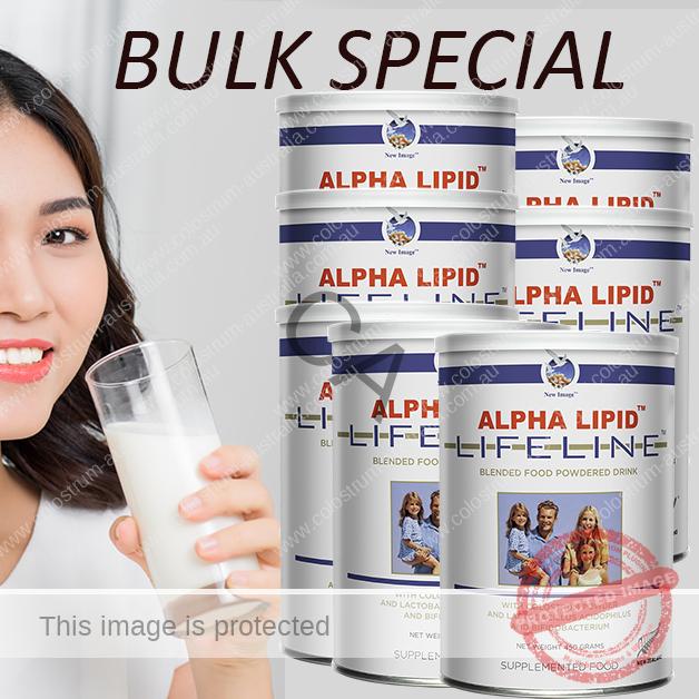 Alpha Lipid Lifeline bulk special buy 12 get 1 free offer