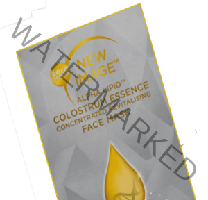 Alpha ipid Colostrum essence face mask sachet