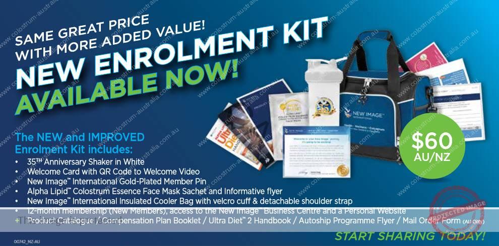 New enrolment kit
