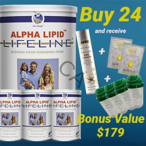 Alpha Lipid Lifeline Colostrum 24 bonus buy